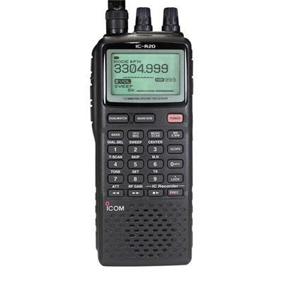 Icom Ic R20 Communications Receiver Long Communications